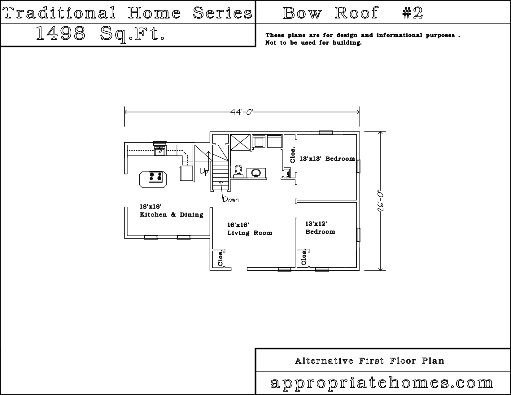Bow house plans escortsea for Bow house plans