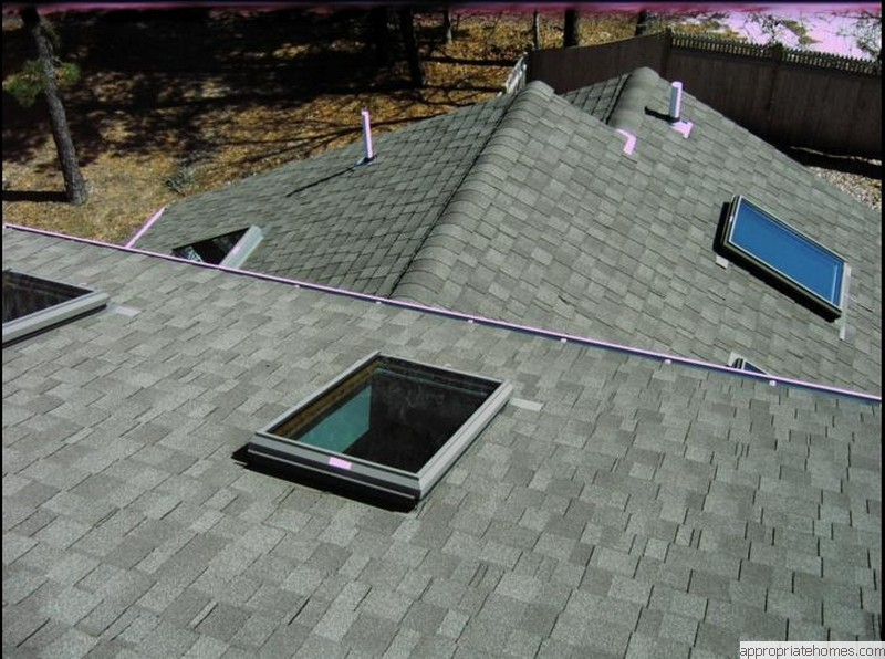 Roofing and siding contractor cape cod appropriate for Roof lines