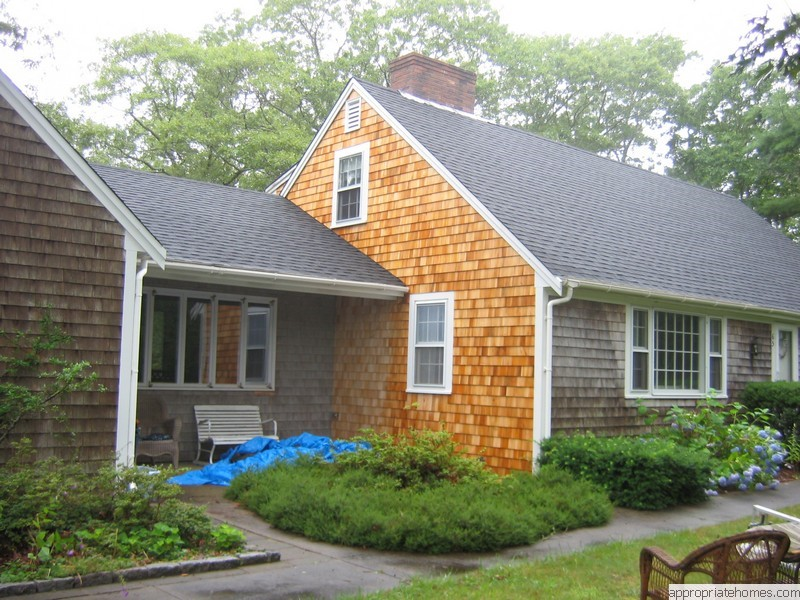 Roofing and siding contractor cape cod appropriate for Shingle art cape cod