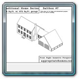 Provincetown-saltbox-with-ell-garage-isometric
