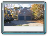 Brewster-two-car-garage-blue-doors