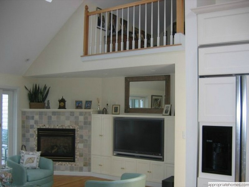 home-improvement-wall-unit tv-stove