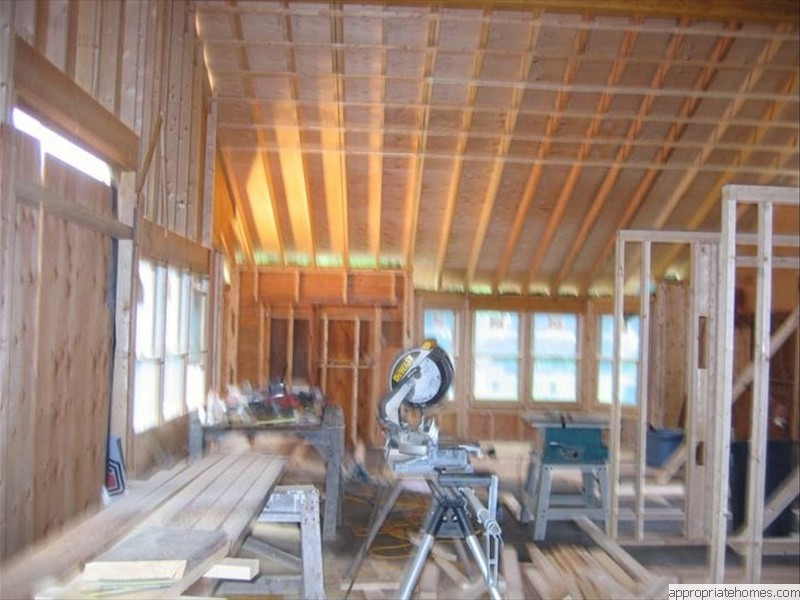 Brewster-interior-framing-strapping-rafters