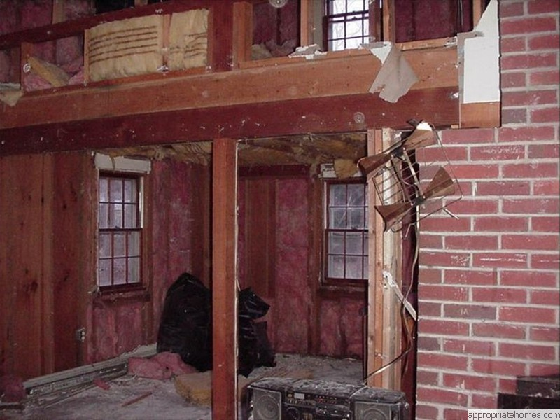 Brewster-interior-gutted-fireplace