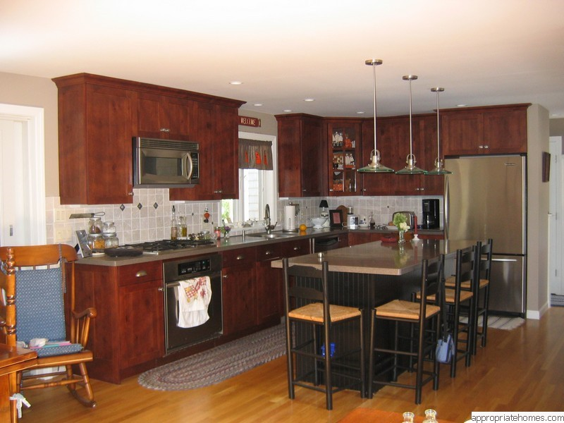 kitchens-cherry-cabinets