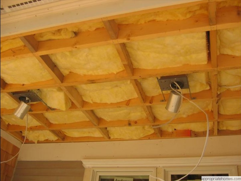 Eastham-ceiling-insulation-recessed-lights