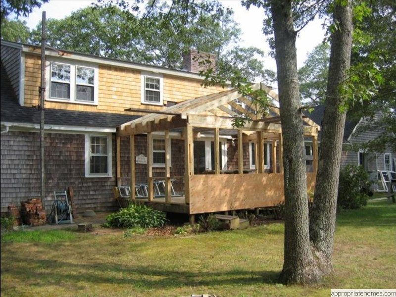 Eastham-porch-framing-new- Siding-shingles