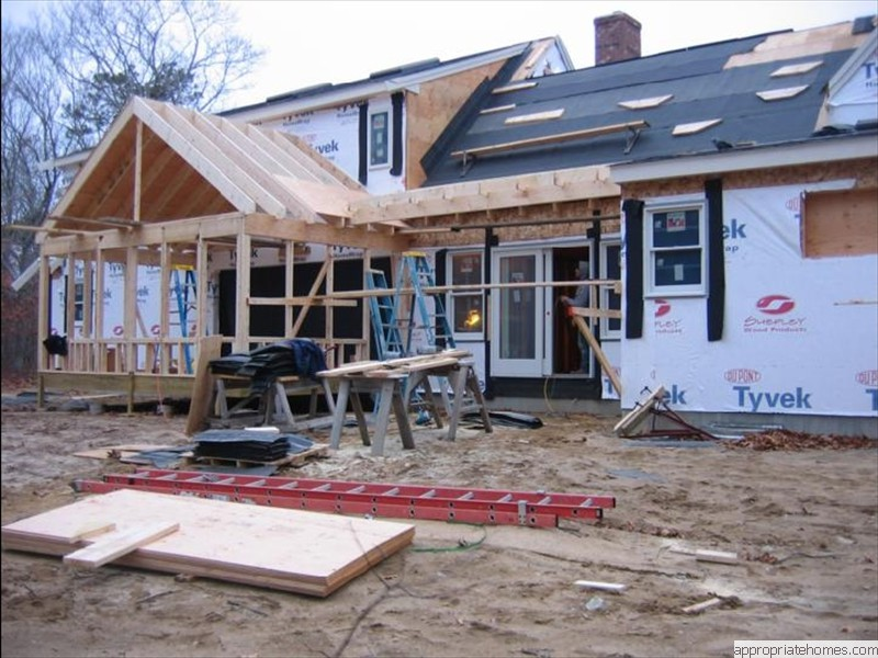 Eastham-rough-framing-with-tyvek-house-wrap