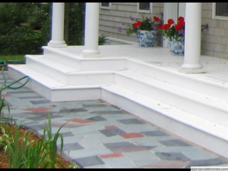 Truro-flagstone- pation-wrap-around-stairs
