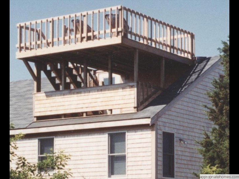 Truro-roof deck-interior-access