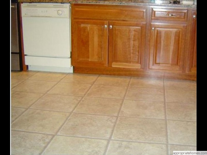 12x12-ceramic-tile-in kitchen