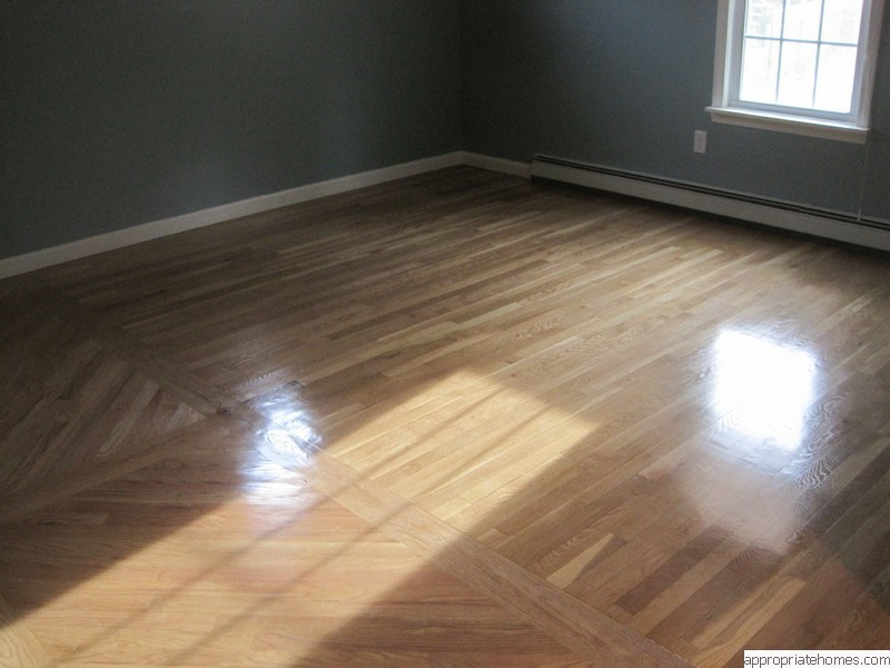 newly-finished-red-oak-flooring