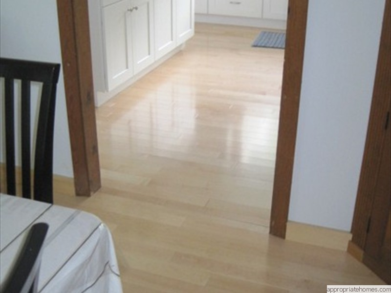 pre-finished-maple-flooring-in-hallway-and-kitchen