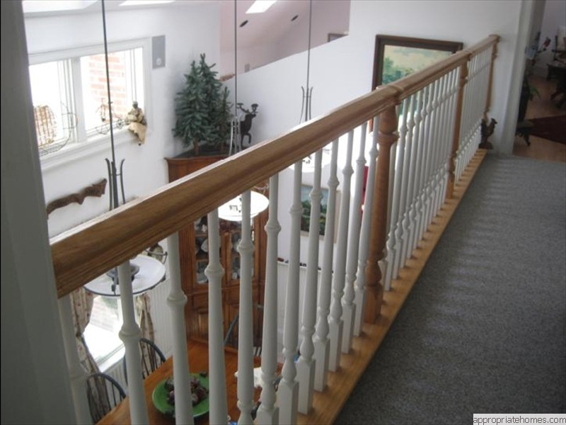 Harwich-painted-balusters-urethaned-handrail-and-posts